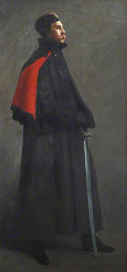 An Aide-de-camp, Captain (later General Sir) Ian Standish Monteith Hamilton (1853–1947), (later GCB, GCMG), 1882