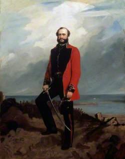 Major-General (later Lieutenant-General Sir) Charles Ashe Windham (1810–1870), Coldstream Guards, Standing in Front of the Redan, Sebastopol, c.1855