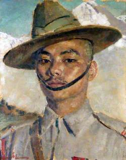 Havildar (later Honorary Captain) Gaje Ghale (1919–2000), VC, 2nd Battalion, 5th Royal Gurkha Rifles (Frontier Force)