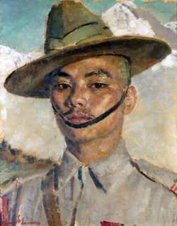 Havildar (later Honorary Captain) Gaje Ghale (1919–2000), VC, 2nd Battalion, 5th Royal Gurkha Rifles (Frontier Force)