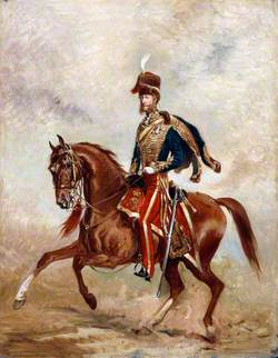 Lieutenant-Colonel (later Lieutenant-General) James Thomas Brudenell (1797–1868), 7th Earl of Cardigan, 11th (Prince Albert's Own) Hussars