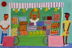 Portobello Fruit Stall 1