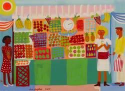 Portobello Fruit Stall 2