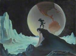 Baron Munchausen Arrives on the Moon