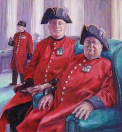 Group Portrait of Chelsea Pensioners