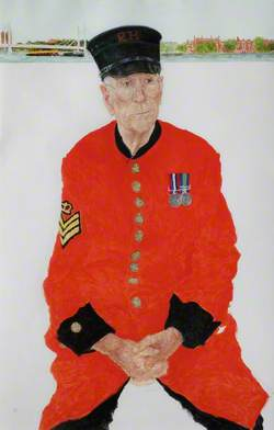 Chelsea Pensioners: In-Pensioner Frederick Butterfield, Formerly Staff Sergeant, Royal Artillery