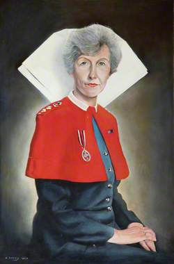 Colonel J. Gillies, RRC, OStJ, SRN, Matron of the Royal Hospital Chelsea (1993–1999)