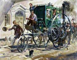 Richard Trevithick's London Road Carriage