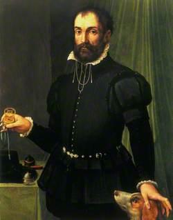 Man Holding a Watch