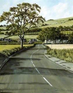 Road from Crank, Merseyside