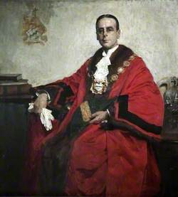 Councillor H. Broderick, JP, Mayor of Southport (1912–1913)
