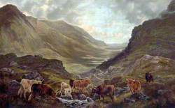 Scottish Landscape with Cattle