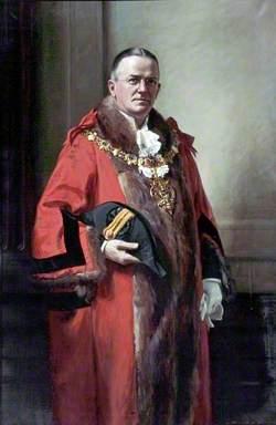 Alderman C. Heweston Nelson, JP, FSAA, Mayor of Wallasey