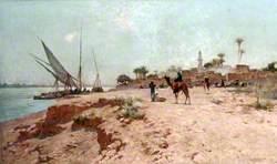 A Nile Village