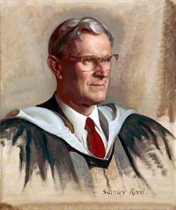 Portrait Study of Donald Hughes, Esq., MA, JP, Headmaster of Rydal School, Colwyn Bay