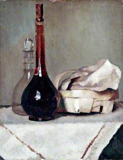 Still Life with a Wine Bottle