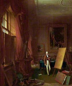 Inspiration: Portrait of the Artist in the Chamber of the Hibernian Academy