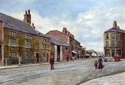 Liscard Village, Junction with Manor Road, Wirral