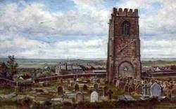 Looking Westward from Wallasey Church, Wirral