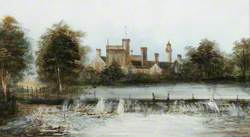 The Weir and Costessey Hall, Norfolk