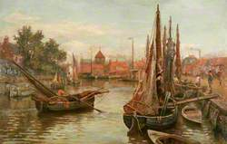 Shrimpers on the Bure