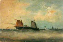 Steam Vessels at Sea