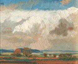Mounting Clouds over the Marshes