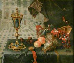 Still Life with King John Cup