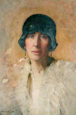 Helen Dexter, the Artist's Wife
