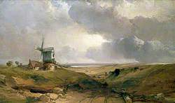 Windmill at Sheringham, Norfolk