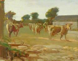 Sketch of Cows