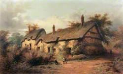 Anne Hathaway's Cottage, Stratford-upon-Avon, Warwickshire