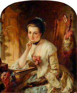 Portrait of a Lady with a Letter