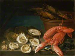 Still Life of Lobsters, etc.