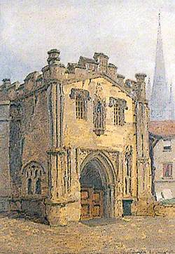 Gateway (Entrance to the Bishop's Palace), Norwich