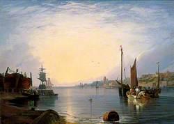 Gorleston Harbour, Norfolk