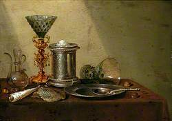 Still Life with an Upturned Roemer