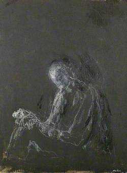 Luminous Figure on a Dark Ground