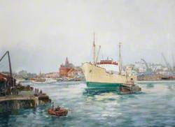 'M. V. Speciality' Dry Docking at Great Yarmouth, Norfolk