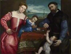 Portrait of Giovanni della Volta with his Wife and Children