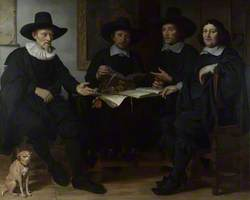 Four Officers of the Amsterdam Coopers' and Wine-rackers' Guild