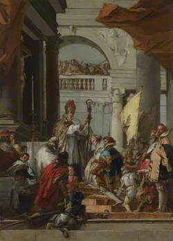 The Marriage of Frederick Barbarossa and Beatrice of Burgundy