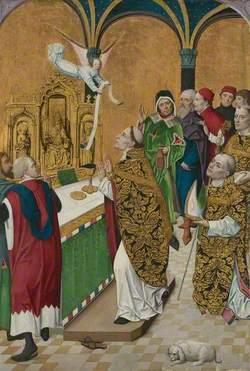 The Mass of Saint Hubert: Right Hand Shutter