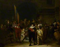 The Company of Captain Banning Cocq and Lieutenant Willem van Ruytenburch ('The Nightwatch')