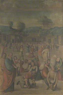 The Story of Moses (The Israelites gathering Manna)