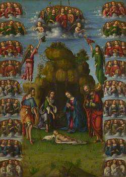The Adoration of the Shepherds with Angels