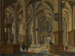 Interior of St Cunerakerk, Rhenen