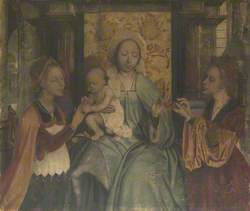The Virgin and Child with Saints Barbara and Catherine