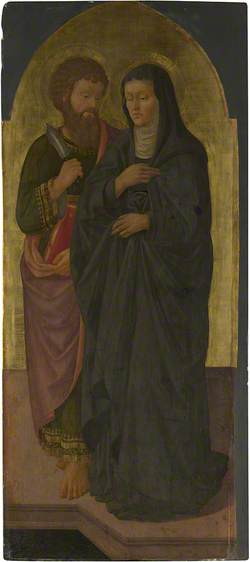 Saint Bartholomew and Saint Monica