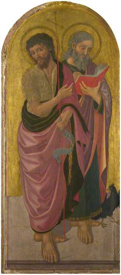 Saint John the Baptist and Saint John the Evangelist